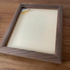 新品 白 マスターウォール masterwal フォトフレーム S BK ピクチャーフレーム 写真 木製 ウォールナット 額縁 額 PHOTO FRAME アート