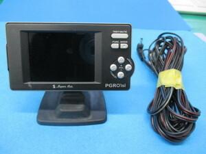 ユピテル Super Cat GPSレーダー探知機【 PGRO1si 】2.2型IPS オールイン ワンボディ Yupiteru スーパーキャット SDカード欠品 中古品