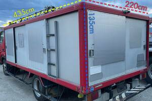 tax included } Aichi *[ approximately 4.3 x 2.2 x 1.4m] bottle car *BOX* carrier * box * warehouse * storage room * tool inserting * keep cool box * freezing * container * truck * pickup limitation