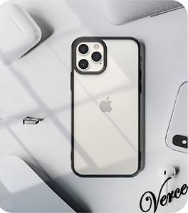 【フロストクリア】 iPhone 12 Pro ケース 6.1インチ サラサラ マット 半透明 TPU 衝撃吸収 ストラップホール Qi充電 カバー