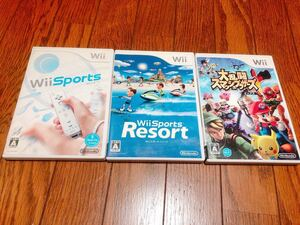 Wiiソフト3点セット