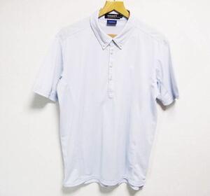 ルコックゴルフ 吸汗速乾 半袖ポロシャツ LLサイズ le coq sportif GOLF COLLECTION サックスブルー