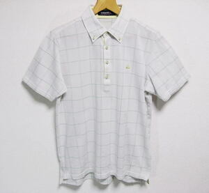 ルコックゴルフ ボタンダウン 吸汗速乾 半袖ポロシャツ Lサイズ le coq sportif GOLF COLLECTION