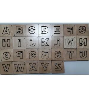 アルファベット 26個セットトムソン型レザークラフト 抜き型