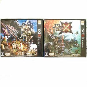 【3DS】 モンスターハンター4G &モンスターハンターX クロス 2点セット