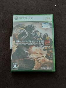 【新品未開封】スプリームコマンダー2 - Xbox360(QB-008-BB400)