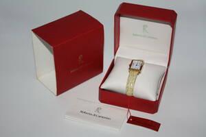 【 新品同様 】 ◆ ROBERTA DI CAMERINO / ロベルタ ディ カメリーノ ◆ ゴールド枠  レディース腕時計  元箱入