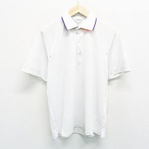 【即決】LANVIN SPORT ランバン スポール 半袖ポロシャツ ホワイト系 38 [240001340928]【中古】メンズ