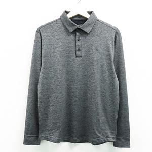 UNDER ARMOUR アンダーアーマー 長袖ポロシャツ グレー系 MD [240001459426] ゴルフウェア メンズ