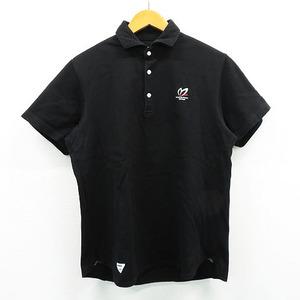 MASTER BUNNY EDITION マスターバニーエディション 2020年モデル 半袖ポロシャツ ブラック系 5 [240001473357] ゴルフウェア メンズ