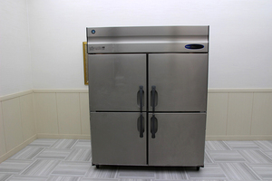 超美品!17年製 ホシザキ星崎 4ドア オール 冷蔵庫 ピラーレス 3相200V 1500×800 HR-150Z3-ML 厨房店舗業務用