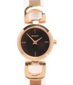 ディーケーエヌワイ 腕時計 クオーツ ゴールド NY-2102 レディース DKNY