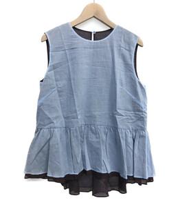 美品 ボディドレッシング ノースリーブブラウス レディース SIZE 38 (S) BODY DRESSING