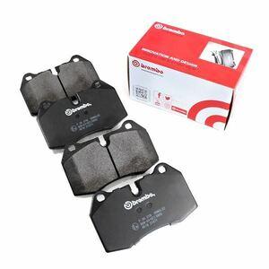 送料無料 brembo ブレンボ ブレーキパッド HONDA モビリオ スパイク GK1 GK2 フロント用 P28 023 BLACK ディスクパッド ブレーキパット