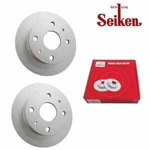 送料無料 seiken 制研化学工業 ブレーキディスクローター 左右2枚セット 510-60001 ホンダ ザッツ JD1 JD2 NA フロント ブレーキ