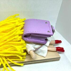 革細工 ミニチュアランドセル 高さ5センチ miniature bag.