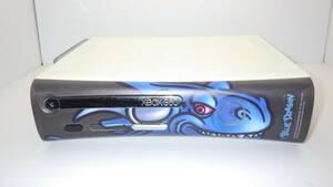 3/ Xbox360 本体 HDMI 250GB HDD / ブルードラゴン フェイスプレート ◆動作品 14003