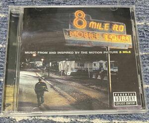 サントラCD MUSIC FROM AND INSPIRED BY THE MOTION PICTURE 8MILE 輸入盤CD