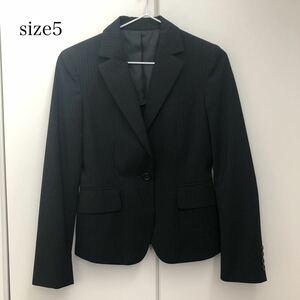 ジャケット スーツ ブラック テーラードジャケット