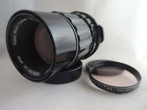 ★極上品★ ペンタックス Pentax Super-Multi-Coated Takumar 6×7 200mm F4 フィルター ASAHI PENTAX 6×7 SKYLIGHT SMC 付き #195