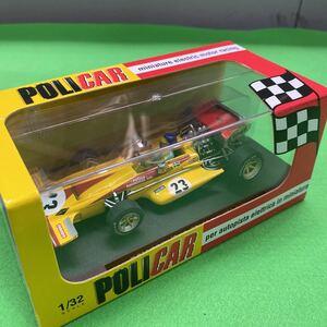 POLICAR 1/32 スロットカー CAR04c March 701 No.23