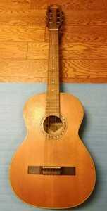 〇ゆうパック着払い〇 中古品 VICTOR クラシックギター 20228 G50 ハードケースあり