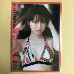 杉本有美 2011 ボム トレカ アイドル グラビア カード 水着 023