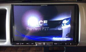 【2020年全国版】アルパイン X800 ハイエースワイド 専用パネル 新品地デジアンテナ 9型リヤモニター 新品ステリモ VICS 取説付 フルセット