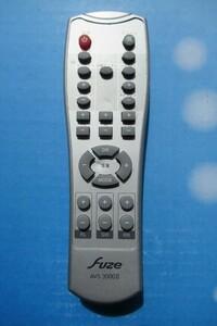 ジャンク品 fuze /フューズ ホームシアター サラウンドシステム 5.1chホームシアターシステムリモコン AVS-3000Ⅱ 管理番号V-8739