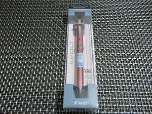 ☆おしゃれ!新品未開封☆PILOT パイロット 2+1EVOLT(エボルト) 0.5極細 油性ボールペン黒赤 0.5mm シャープペンシル ピンク P-3091-11