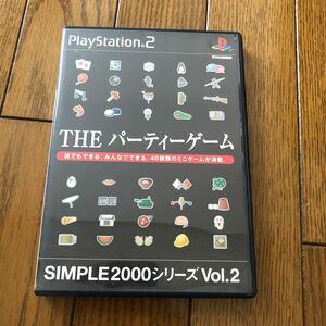 【ジャンク品】THEパーティーゲーム  PS2ソフト