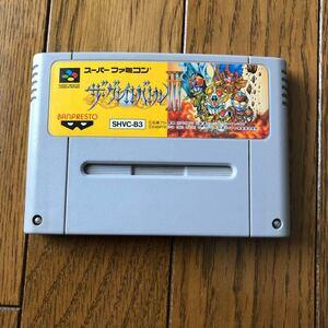 【ジャンク品】 ザ・グレイトバトル3 スーパーファミコンソフト