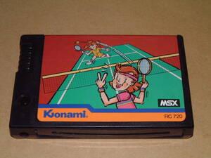 即決【MSX】コナミのテニス【KONAMI】