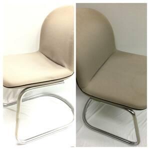 コクヨ KOKUYO 椅子2脚セット オフィスチェア スタッキングチェア CK-120 グレイ イス 事務家具 備品   h683