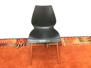 ☆イタリア製 Kartell カルテル Maui マウイ チェア 椅子 イス ダイニングチェア スタッキング オフィス レストラン ブラック