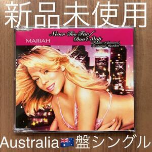 Mariah Carey マライア・キャリー Never Too Far / Don't Stop AU盤 オーストラリア盤シングル 新品未使用