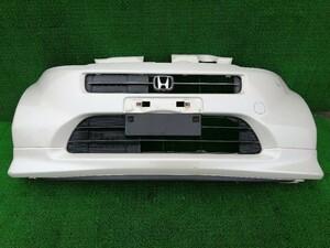 ホンダ ライフ JB5 JB6 JB7 JB8 フロントバンパー バンパーカバー バンパーパネル スポイラー付き NH624P/パールホワイト