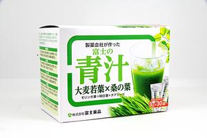 ♪ 富士薬品 富士の青汁 (大麦若葉×桑の葉) 30袋 1箱 賞味期限2022年8月迄 未開封品