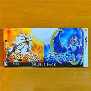 任天堂 ポケットモンスター サン ムーン ダブルパック 3DS ソフト ニンテンドー ポケットモンスターサン・ムーン