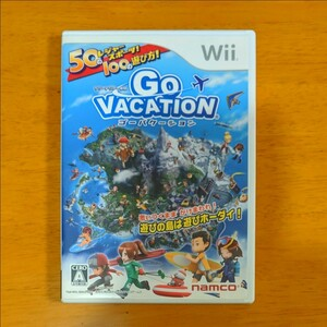 Wii ゴーバケーション Wiiソフト GO VACATION