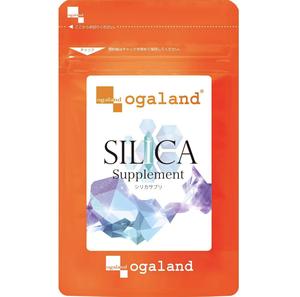 【送料無料】 シリカサプリ 約1ヶ月分 (30粒入×1袋) ミネラル ヒアルロン酸 コラーゲン サプリメント オーガランド