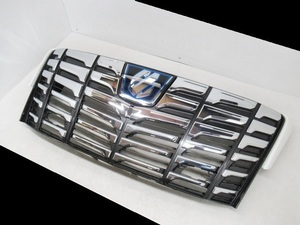 ● トヨタ アルファード ハイブリッド 30 AGH30 35 GGH30 35 前期 純正 フロントグリル レーダークルーズ エンブレム付 (n056645
