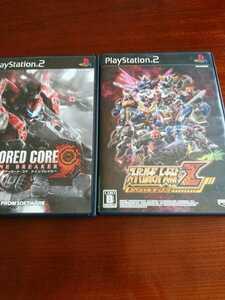 スーパーロボット大戦Z スペシャルディスク アーマード・コア ナインブレイカー ps2 プレステ2 プレイステーション2