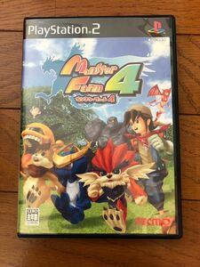 PS2ソフトモンスターファーム4