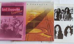レッド・ツェッペリン 1968-1980(難有り)  ブロマイド 切り抜き(40年位前の物~) セット