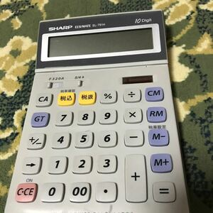 SHARP 電卓 EL-791H 10桁