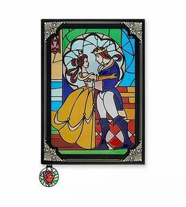 ディズニー 美女と野獣 ノートブック Stained Glass Window