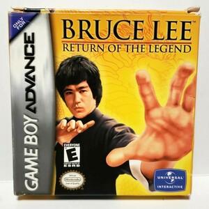 GBA BRUCE LEE RETURN OF THE LEGEND ゲームボーイアドバンス