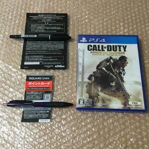 PS4 コール オブ デューティ アドバンスド・ウォーフェア 「字幕版」 CALL OF DUTY ADVANCED WARFARE 送料140