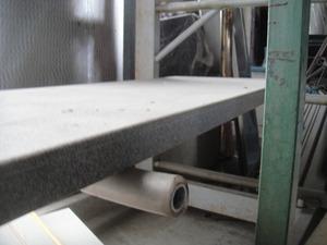 【棚25914-2有】流し台 カワンター50cm巾2.2位長さ人工大理石 キズ有り未使用
